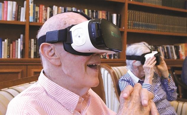 Tour thực tế ảo cho người già