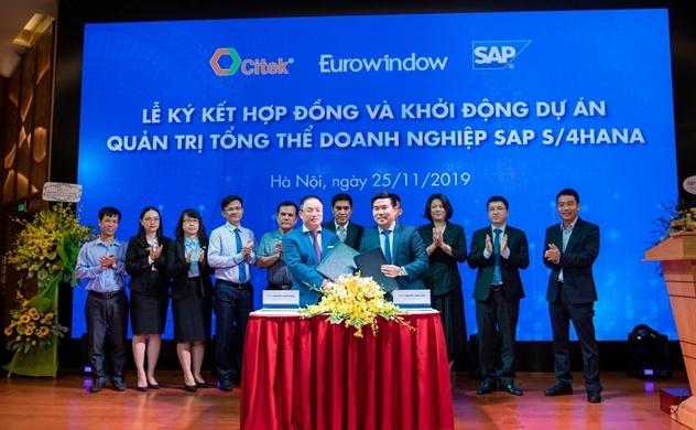 CITEK và Eurowindow hợp tác xây dựng doanh nghiệp số thông minh