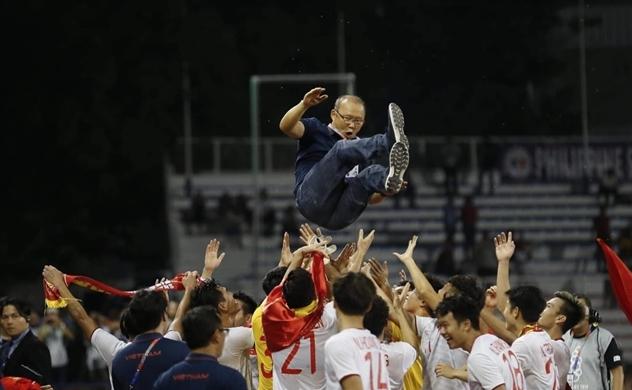 Đội tuyển U22 Việt Nam giành chức vô địch SEA Games sau 60 năm