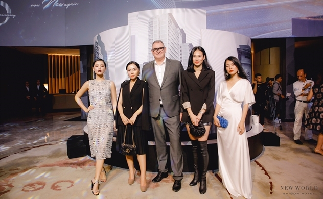 Khách sạn New World Sài Gòn kỷ niệm 25 năm thành lập và ra mắt một diện mạo mới