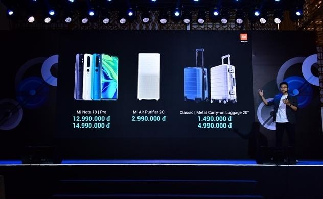 Xiaomi mang Mi Note 10 đến Việt Nam