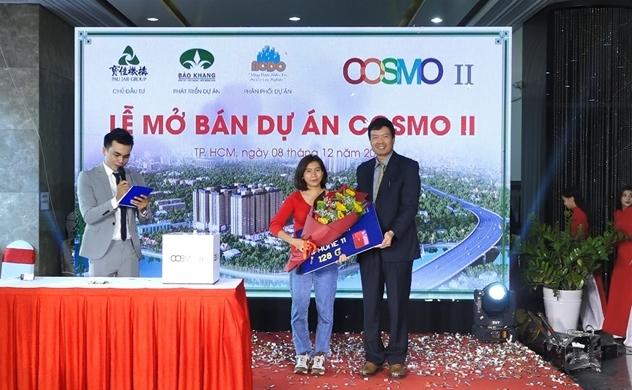 Mở bán thành công dự án Cosmo II