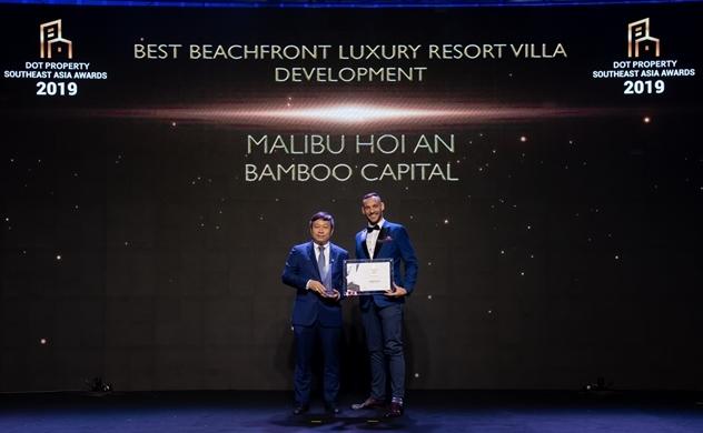 Malibu Hội An nhận liên tiếp 2 giải thưởng tại Dot Property SouthEast Asia Awards 2019