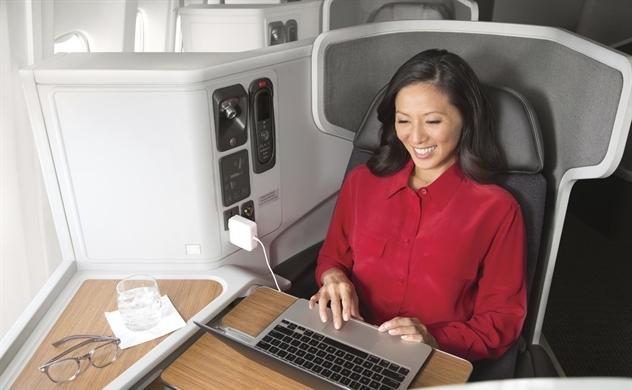 Hé lộ trải nghiệm bay đẳng cấp tại khoang thương gia cùng American Airlines