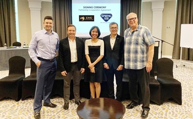 Spring Air hợp tác với LMG sản xuất nệm tại Việt Nam