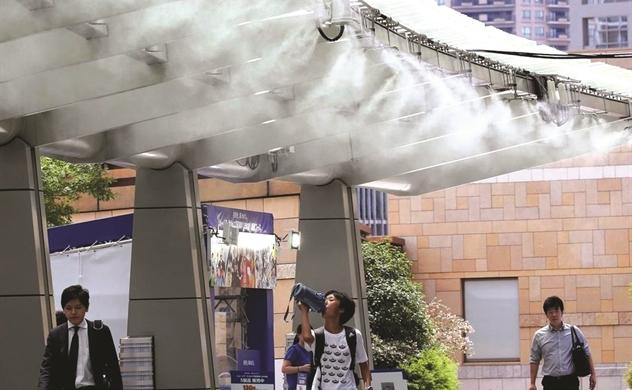 Thành phố châu Á ứng phó sóng nhiệt