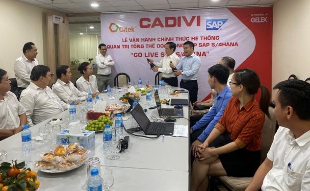 CITEK thực hiện chuyển đổi số cho CADIVI với bộ giải pháp quản trị thông minh SAP S/4HANA