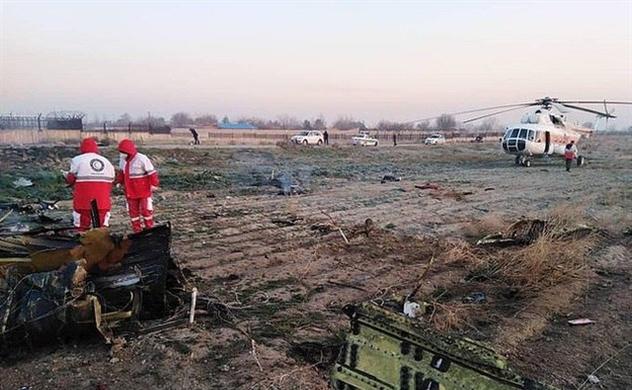 Máy bay chở 170 người rơi tại Iran vì lỗi kỹ thuật