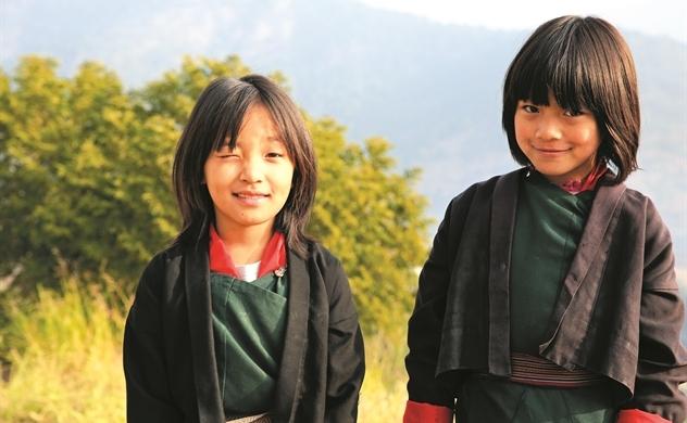 3 cạnh của tam giác hạnh phúc Bhutan