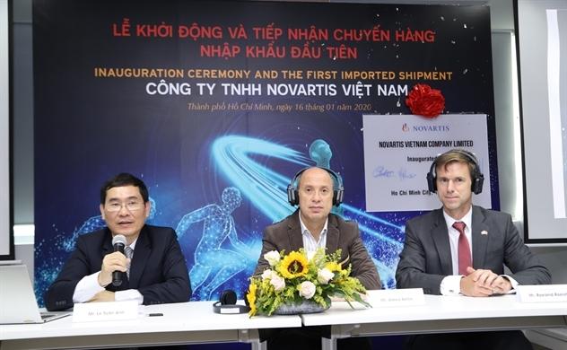 Novartis giới thiệu công ty mới với quy mô lớn hơn tại Việt Nam