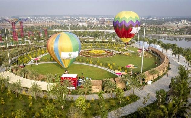 Trải nghiệm bay khinh khí cầu độc đáo ngay giữa lòng Sài Gòn