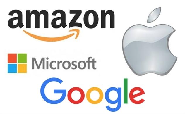 Alphabet, Apple, Amazon, Microsoft đang đi chung trên một con đường tới mức vốn hóa 1.000 tỷ USD