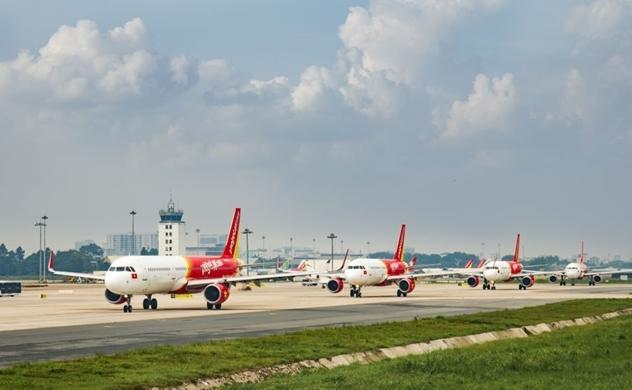 Các đường bay đi và đến Đài Loan (Trung Quốc) và Hồng Công (Trung Quốc) của Vietjet khai thác bình thường