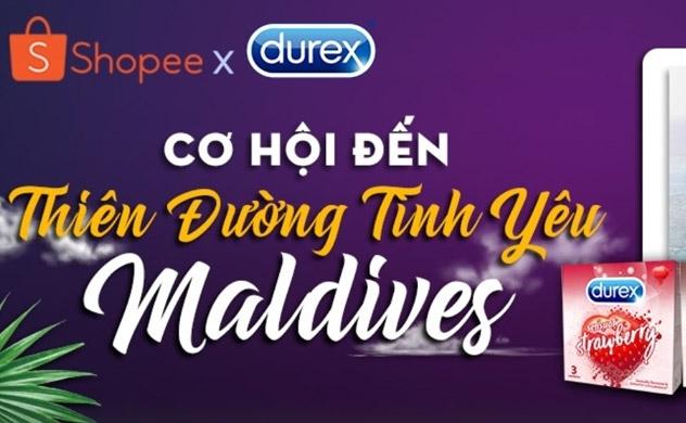 Tận hưởng Valentine tại Maldives cùng Durex và Shopee