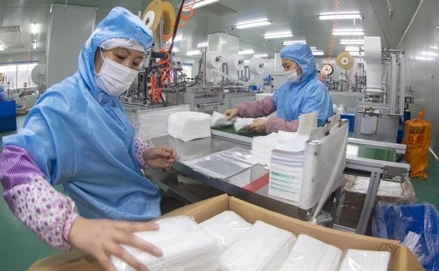 Bộ Công Thương làm việc với các doanh nghiệp sản xuất khẩu trang nhằm phòng chống virus corona