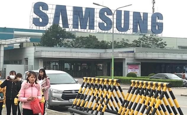 Samsung nỗ lực bảo vệ nhà máy sản xuất điện thoại thông minh tại Việt Nam khỏi virus corona