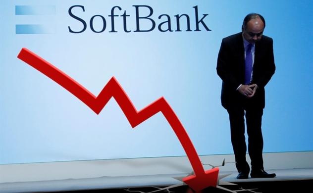 Những khoản lỗ tại WeWork và Uber kéo lợi nhuận của SoftBank giảm 99%