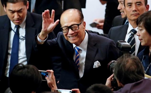Ông Lý Gia Thành không còn là người giàu nhất Hồng Kông (Trung Quốc) sau hơn 2 thập kỷ