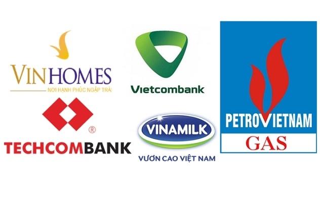 Tài sản của các doanh nghiệp lãi trên 10.000 tỷ đồng: Vinhomes, Vietcombank, PV GAS, Techcombank và Vinamilk