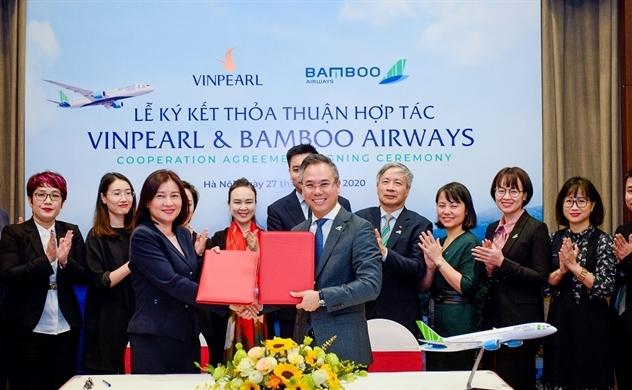Vinpearl hợp tác chiến lược với Bamboo Airways để phát triển du lịch nội địa