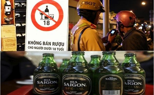 Ngành bia trong đó có Sabeco sẽ ra sao khi uống bia thì bị phạt, quảng cáo bia thì bị giới hạn?