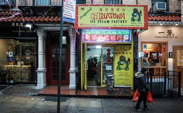 Vì virus corona, người Mỹ tại New York không muốn làm ăn với người Trung Quốc, khu Chinatown vắng hoe