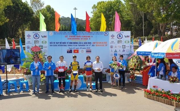 9 năm song hành cùng giải đua xe đạp nữ quốc tế Bình Dương tranh cúp Biwase