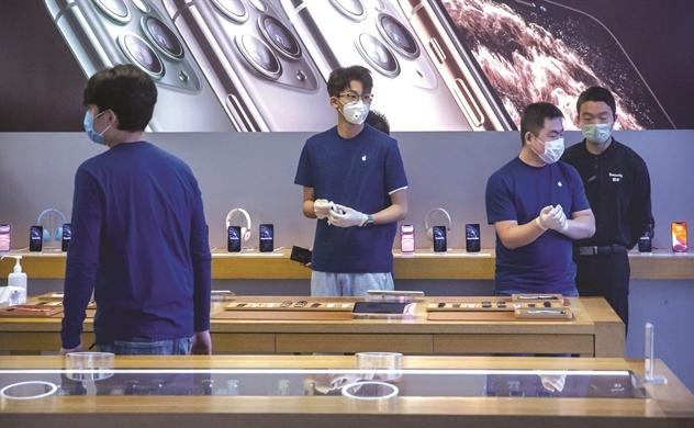 Apple: Cửa sinh - cửa tử tại Trung Quốc