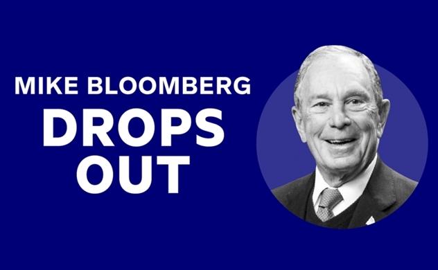 Chi 500 triệu đô cho quảng cáo nhưng vẫn thất bại thảm hại, tỷ phú Michael Bloomberg rút khỏi cuộc đua Nhà Trắng