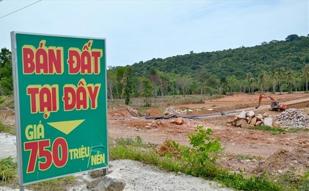Phú Quốc được phân lô, tách thửa và chuyển mục đích sử dụng đất trở lại