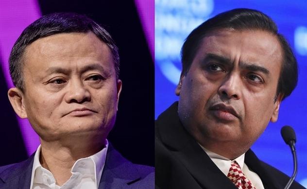 Jack Ma lấy lại ngôi giàu nhất châu Á từ tỷ phú Ấn Độ