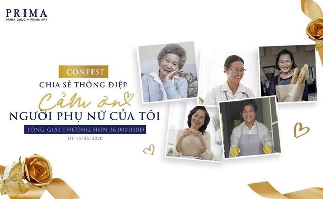 #Mywomen tri ân những người phụ nữ Việt