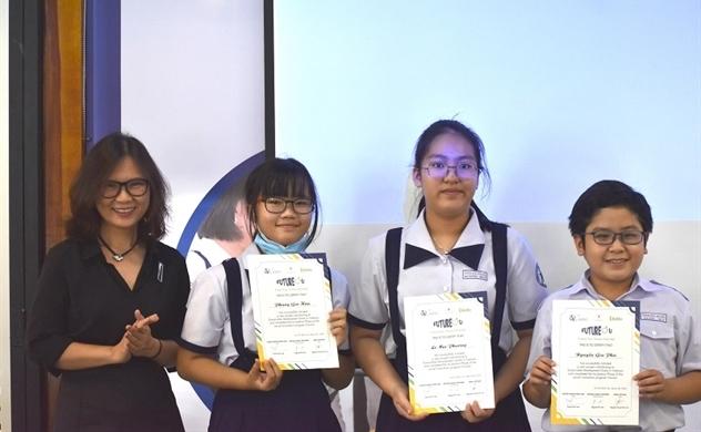 100 học sinh đề xuất 20 dự án sáng tạo xã hội góp phần thực hiện các Mục tiêu phát triển bền vững của Liên Hiệp Quốc tại Việt Nam