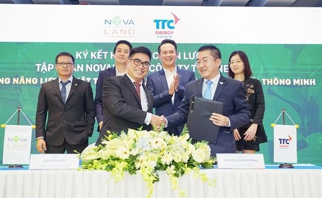 TTC Energy hợp tác chiến lược với Novaland