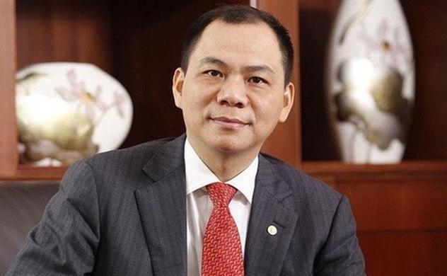 Vietnam's richest man Pham Nhat Vuong off top 300 billionaires list