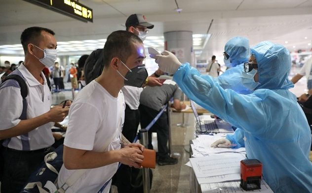 American man traveling to 8 countries tested with coronavirus in Vietnam