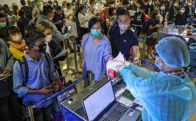 Vietnam reports 9 newly confirmed cases of coronavirus, mostly coming from UK, total hits  85