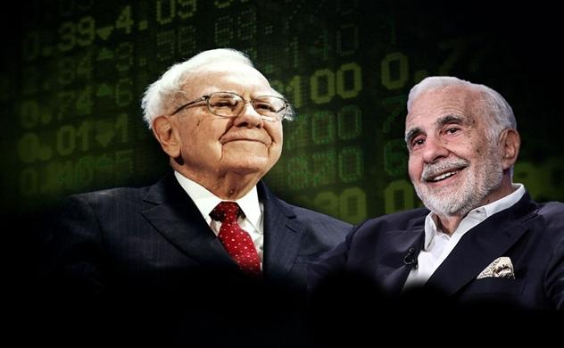 """Thị trường đổ đèo, giới siêu giàu chi ra hơn 1 tỷ USD để tìm """"món hời của đời người"""", Warren Buffett, Carl Icahn ra tay mua cổ phiếu"""
