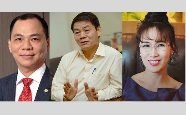 Việt Nam chỉ còn 3 tỷ phú USD trong bảng xếp hạng những người giàu nhất hành tinh