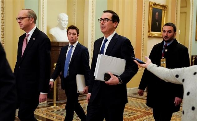 Nhà Trắng và các Thượng nghị sĩ nhất trí về gói kích thích trị giá 2.000 tỷ USD