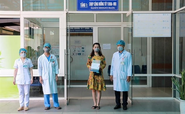 Two Britons among three coronavirus patients in Vietnam recovered and discharged from hospital