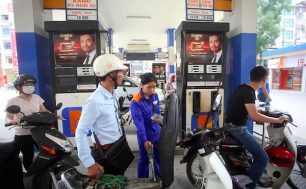 Vietnam cuts retail fuel prices for a second time in March, by up to $0.18 per liter