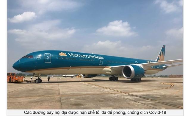 Từ 30/3, mỗi hãng hàng không Việt Nam chỉ được khai thác 1 chuyến/ngày trên 5 đường bay trục Hà Nội, Đà Nẵng, TP.HCM và Phú Quốc