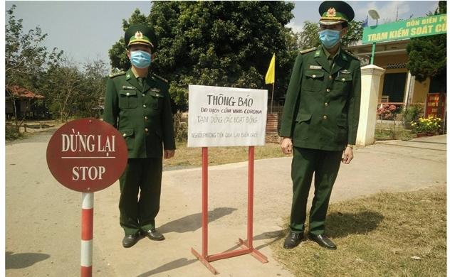 Đại dịch COVID-19: Việt Nam tạm dừng các cửa khẩu ở biên giới Tây Nam