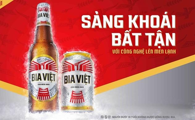 Ra mắt nhãn hiệu Bia Việt tôn vinh giá trị Việt