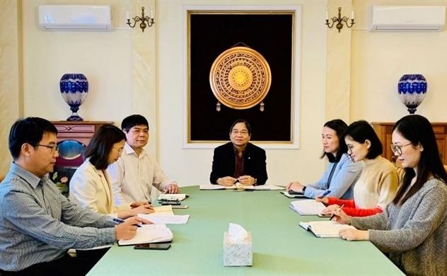 Hội người Việt Nam tại Ba Lan họp trực tuyến về chống dịch Covid-19
