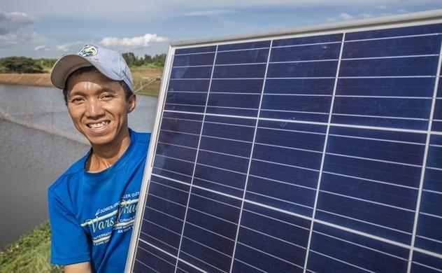 Nuôi trồng thủy sản kết hợp điện mặt trời
