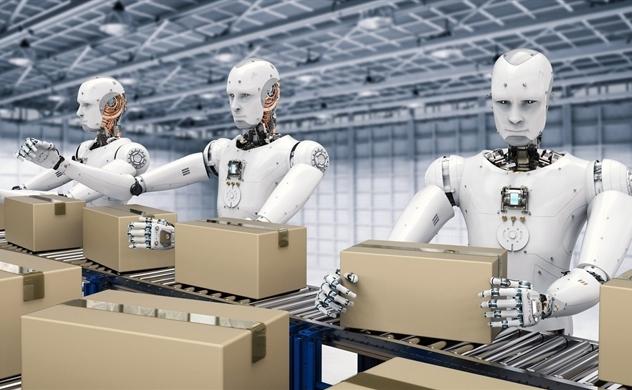 Robot lên ngôi sau dịch bệnh