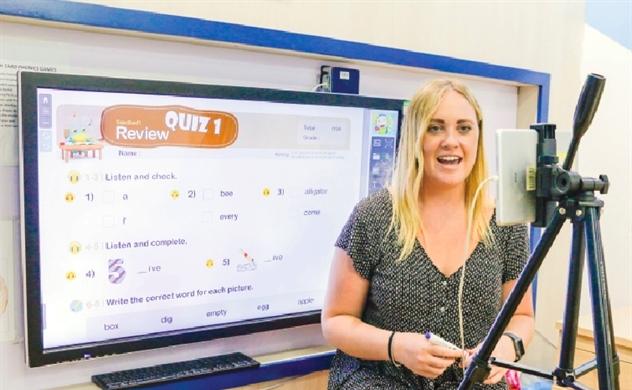 Đào tạo Anh ngữ mở cuộc đua trực tuyến