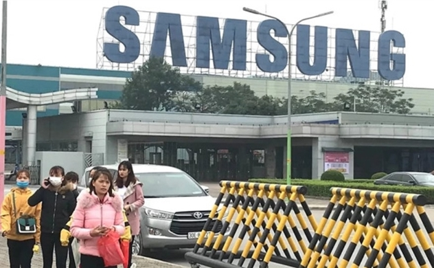 Samsung Vietnam conducts massive recruitment despite impact from coronavirus
